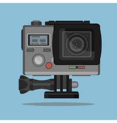 Camera for active extreme sports vector