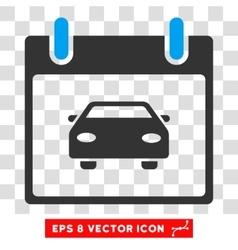 Car calendar day eps icon vector