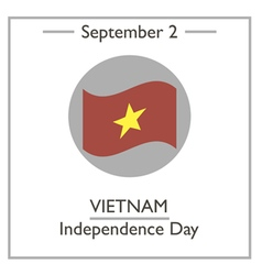 Vietnam independence day vector