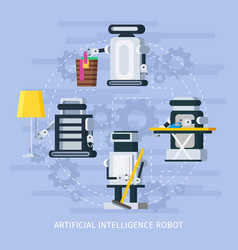 Artificial intelligence composition vector