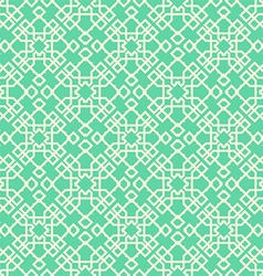 Green ornamental background vector
