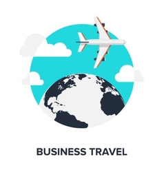Business Travel vector image