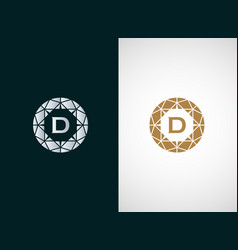 Diamond logo icon design vector