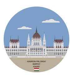 Hungarian parliament buildin vector
