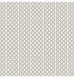 Interlaced lines celtic ethnic ornament vector