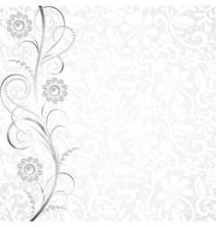 Jewelry and lace vector