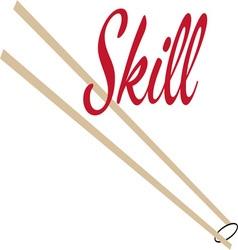 Skill vector