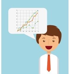 Stock exchange design vector