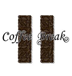 coffee break- drink vector image