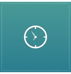 Circle Clock icon vector image vector image