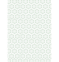 floral pattern for background vector image vector image