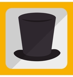 hat colorful icon design vector image