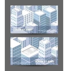 1674city vector image vector image