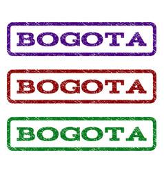 Bogota watermark stamp vector