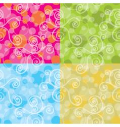 bubble flattened vector image vector image