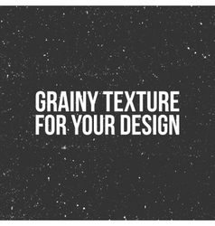 grain Texture like a Snow Dust or Sand vector image vector image