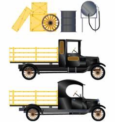 Work truck vector