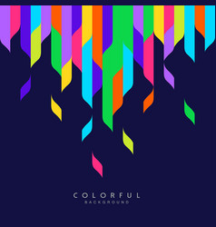 abstract artistic colorful background vector image
