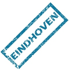 Eindhoven rubber stamp vector