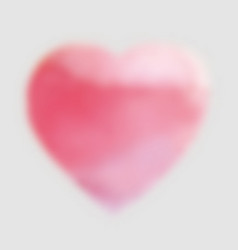 Blurred pink heart vector