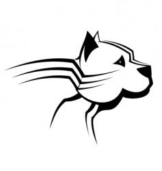 guard dog vector image