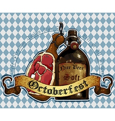 Octoberfest RGB vector image vector image