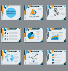 Professional business presentation vector