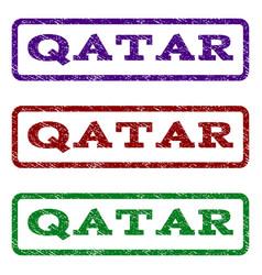 Qatar watermark stamp vector
