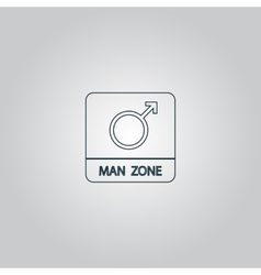 Male symbol man vector