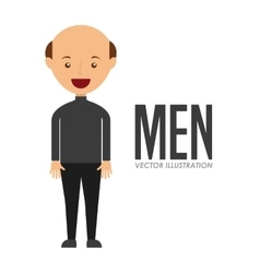 Avatar of men vector