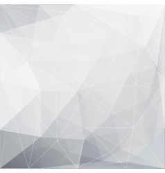 Abstract polygonal geometric background made of vector