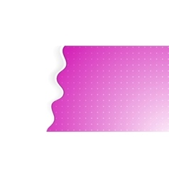 Abstract bright pink wavy background vector