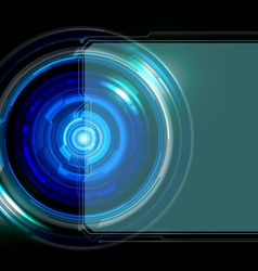 Abstract frame technology background vector