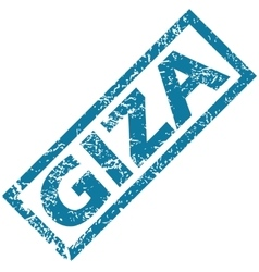 Giza rubber stamp vector