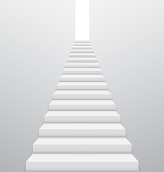 Stairway vector image