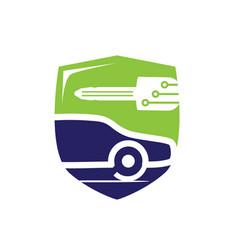 Vehicle locksmith symbol vector