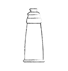 Water thermo bottle vector