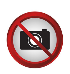 forbidden signs design vector image