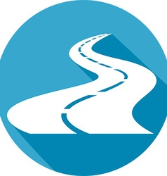 Highway Icon vector image