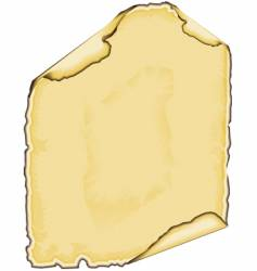 parchment edge vector image vector image