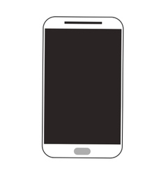 Smartphone cellphone mobile design vector