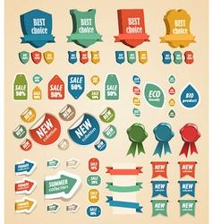 Design vintage elements vector image