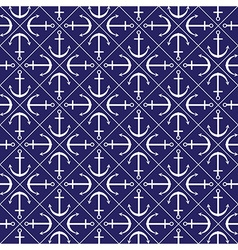 Seamless anchor pattern in format vector image