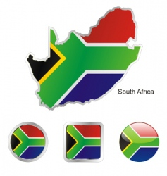 south africa vector image