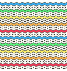 Colorful waves pattern vector image