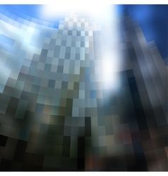 Blur city background vector image vector image
