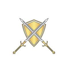 Heraldry computer symbol vector