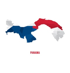 Map of panama a vector