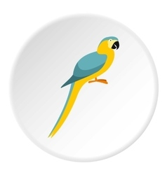Parrot icon flat style vector image