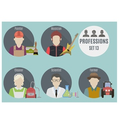 Profession people vector image vector image